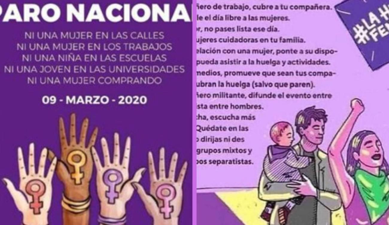 Dia Del Trabajador Mujeres en el paro nacional de mujeres, los hombres pueden apoyar