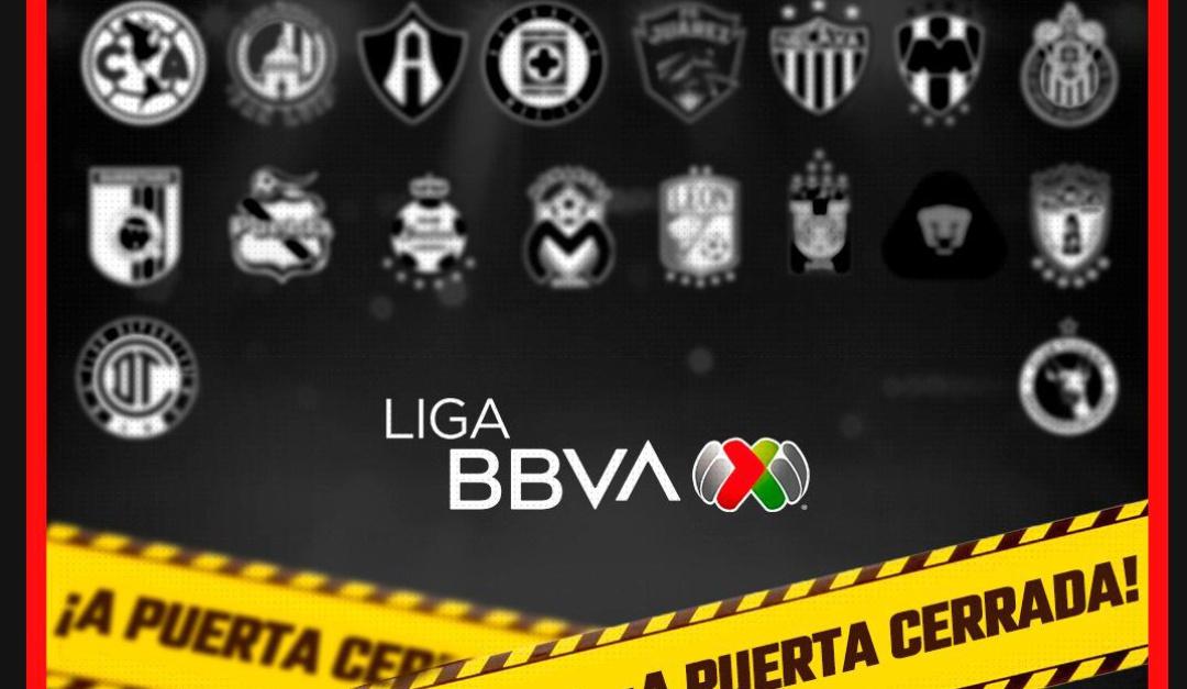 La Liga Mx se jugará a puerta cerrada | Deportes | W Radio Mexico