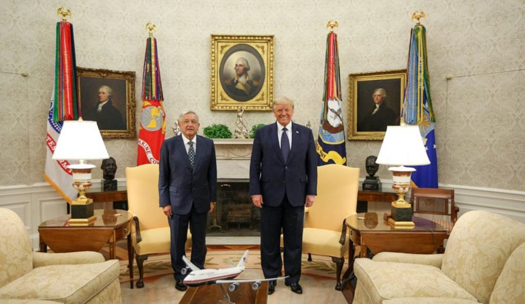 Diálogo y respeto destacan AMLO y Trump