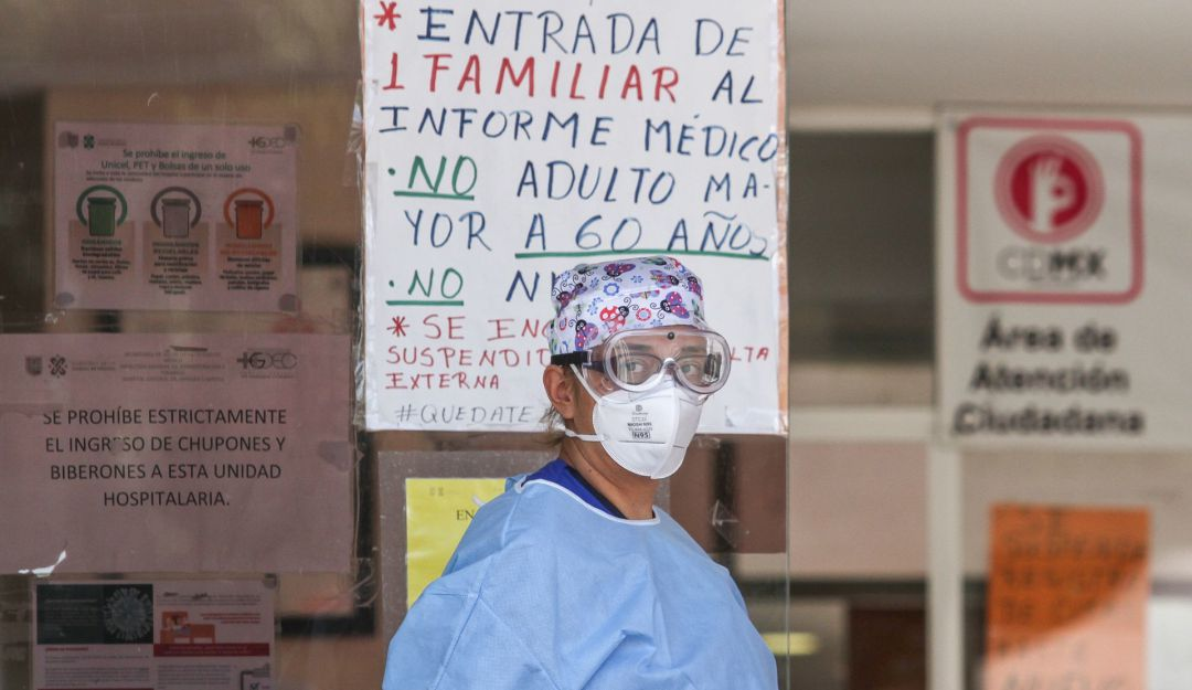 México supera las 34 mil muertes por COVID-19