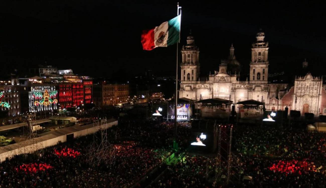 GRITO INDEPENDENCIA ZOCALO: Así será la celebración del Grito de  Independencia en el Zócalo de la CDMX | Sociedad | W Radio Mexico