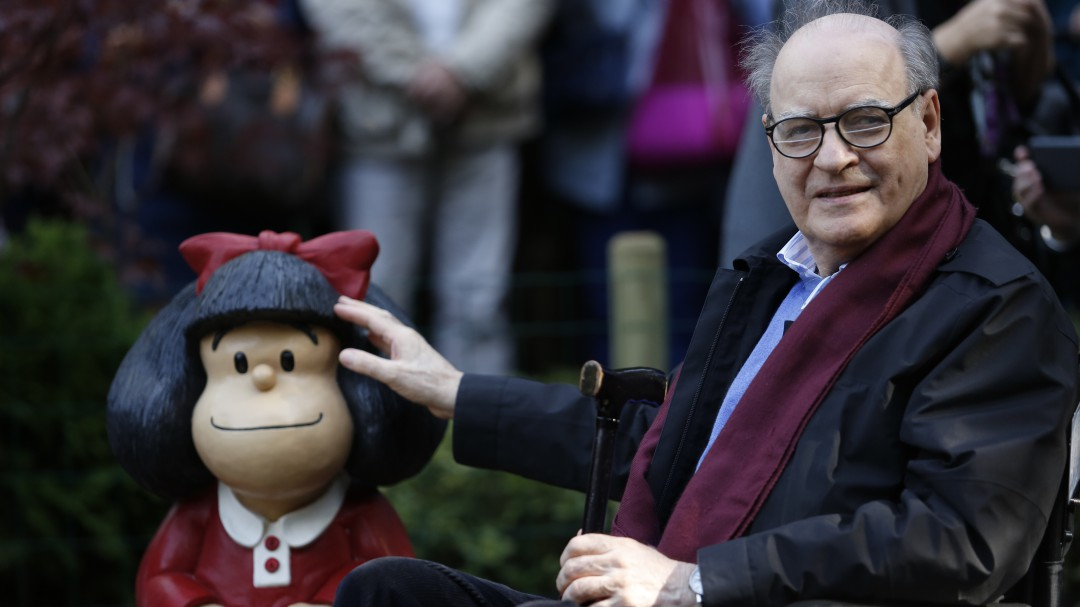 Gracias Quino; el papá de Mafalda muere a los 88 años