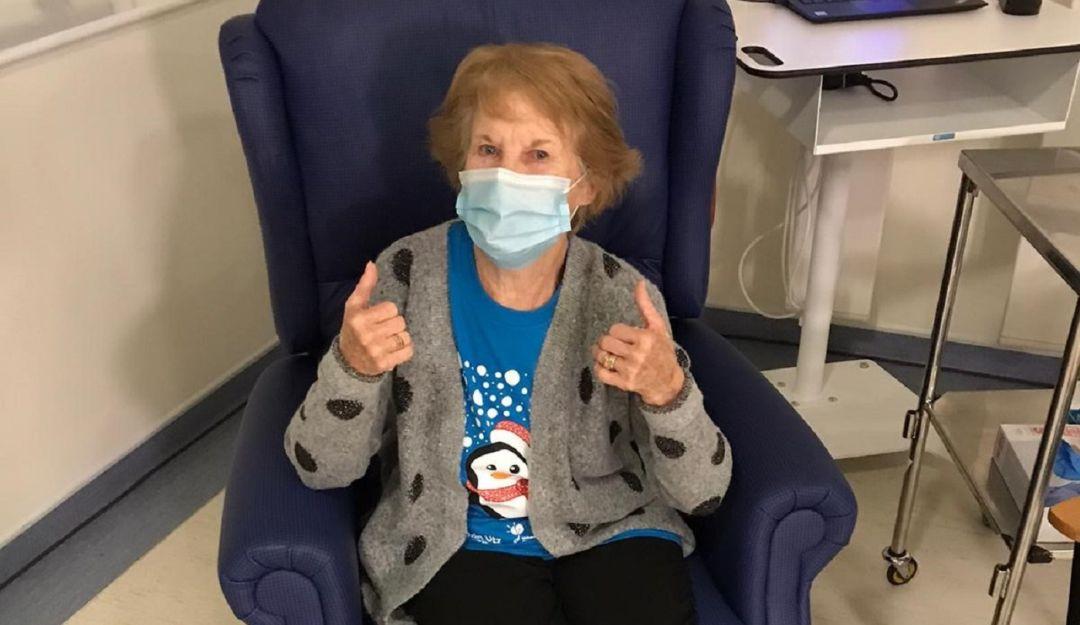 Margaret Keenan, la primera persona vacunada contra COVID-19 en Reino Unido | Internacional | W Radio Mexico