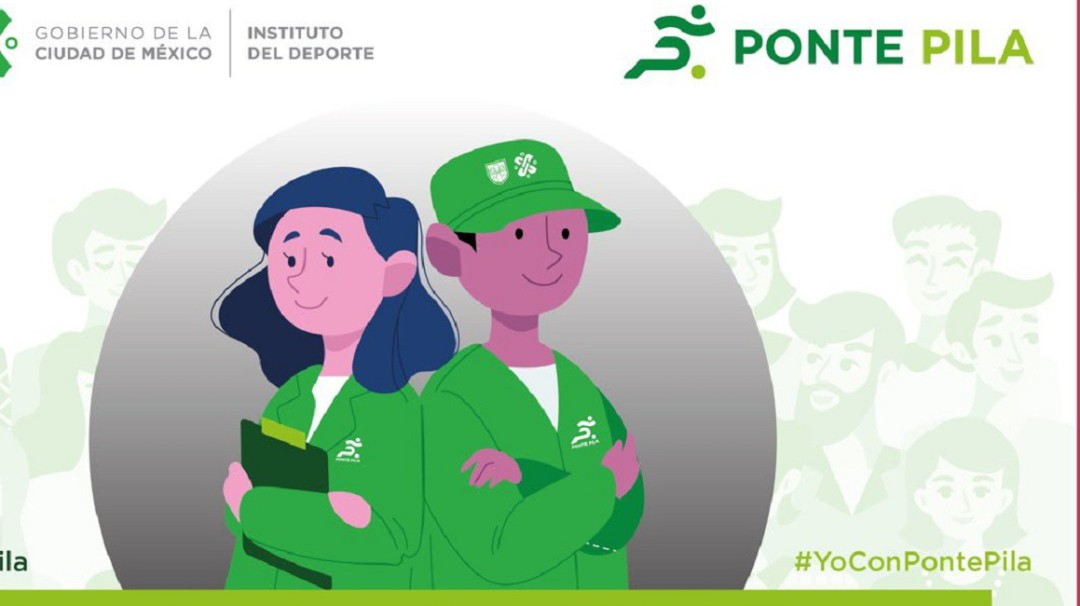 ¿Busca trabajo? Puedes ser promotor del deporte en el programa Ponte Pila