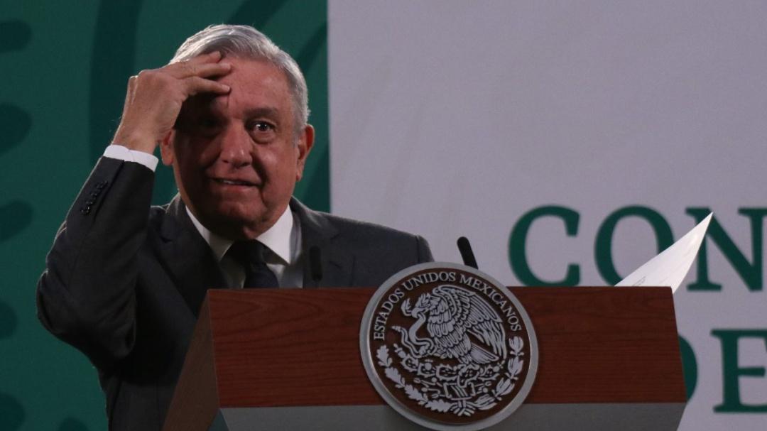 El presidente López Obrador tiene COVID-19