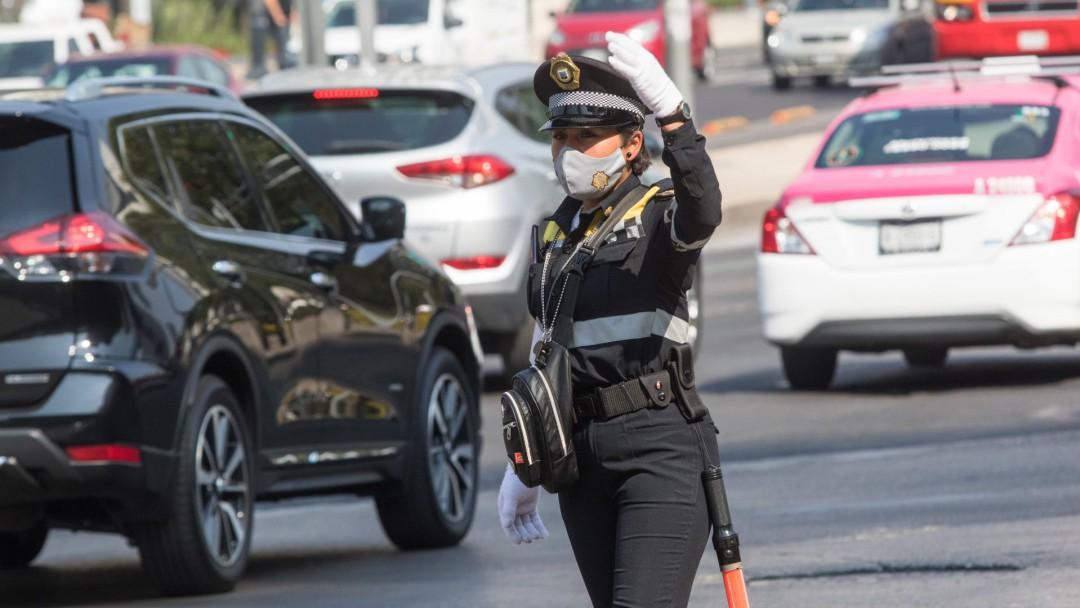 Ellos son los policías autorizados para levantar infracciones en la CDMX