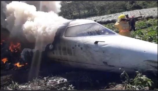 Mueren 6 elementos de la Fuerza Aérea Mexicana tras desplome en Veracruz