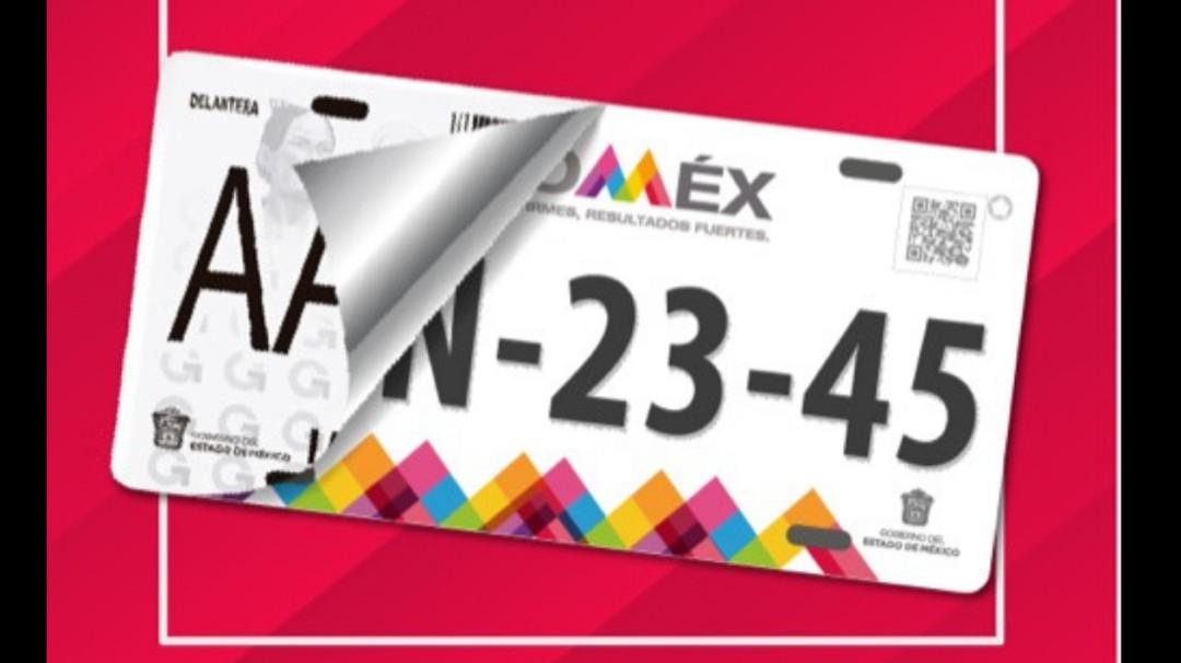 Así puedes hacer tu reemplacamiento en el Estado de México este 2021