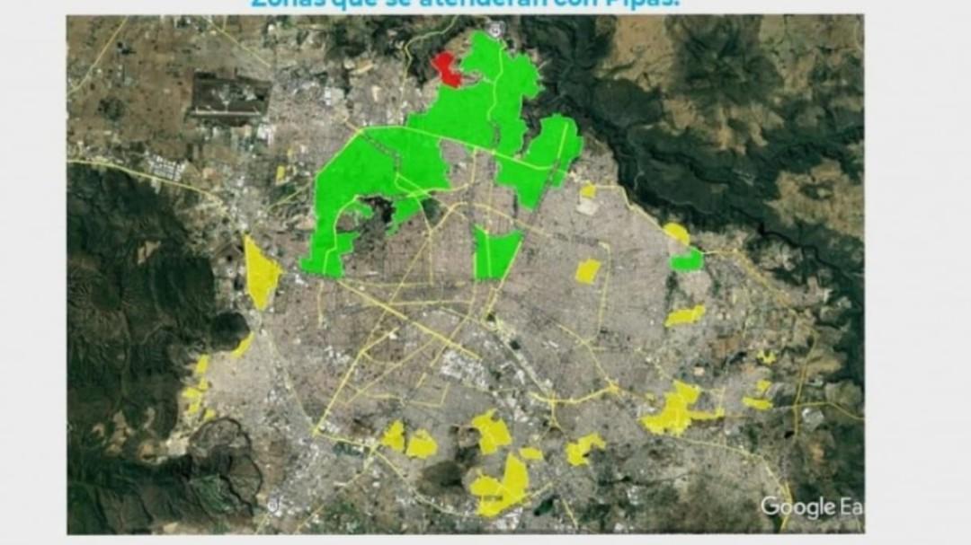 Anuncia mega corte de agua SIAPA en ZMG