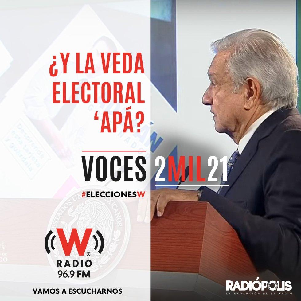 """AMLO sigue sin respetar la veda electoral; abiertamente confirmó su interés por el proceso electoral de Nuevo León al ser cuestionado en la conferencia matutina, respondiendo, ¡Claro que SÍ! y señaló: """"No podemos ser cómplices de fraude""""."""