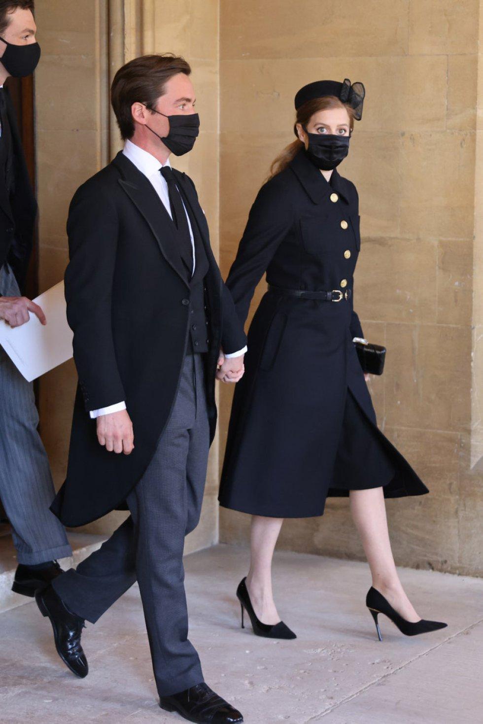 La princesa Beatrice (hija de Andrés y Sarah Fergusson) y Edoardo Mapelli Mozzi, esposo de la princesa Beatrice