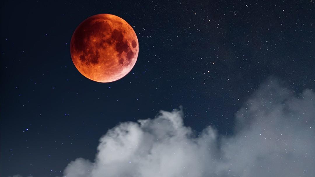 Aquí puedes seguir la transmisión en vivo del eclipse total de Luna 2021