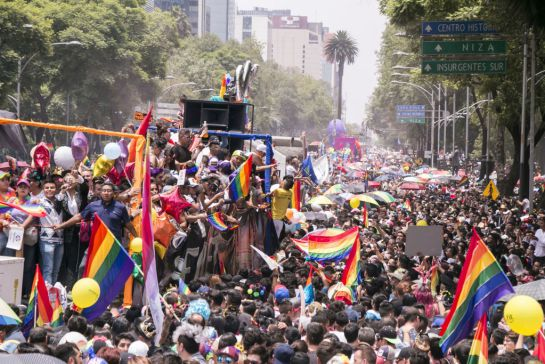 The Mexico City LGBT Pride March will not be able to take place in the streets due to the COVID-19 pandemic.