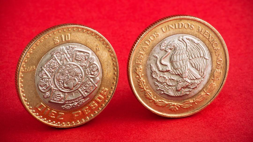 Conoce las monedas de 10 pesos que se venden hasta en 45 mil pesos