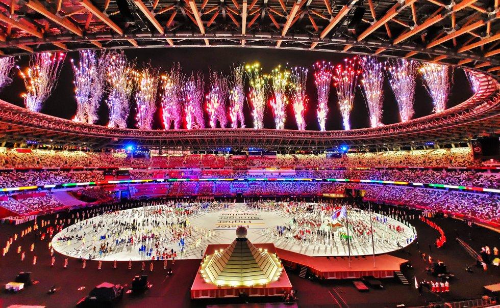 Inauguración de los Juegos de Tokio.