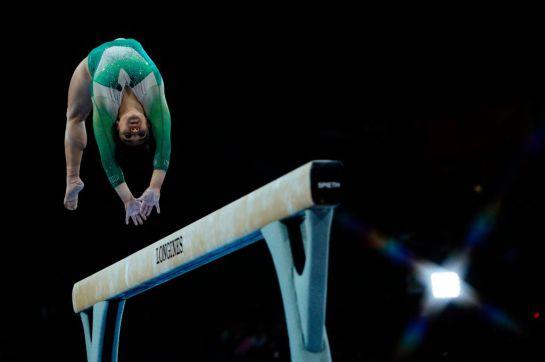 La gimnasta mexicana Alexa Moreno clasificó a la final de salto de caballo en los Juegos de Tokio