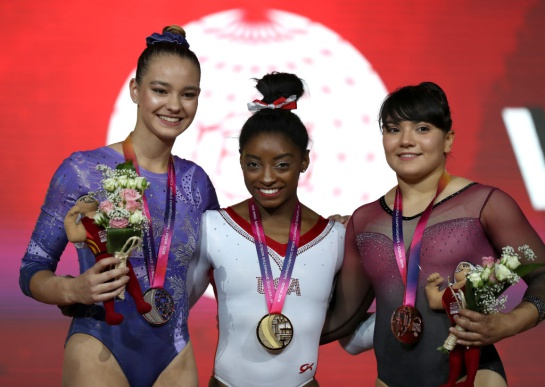La gimnasta en los Juegos de Tokio solo logró clasificar en la final del salto de caballo